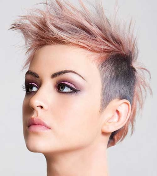 U2022Leave A Comment On 0c5585235ae1e17194dbe6fd7962ce79u2013edgy Pixie Haircuts  Mohawk Hairstyles For Women