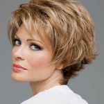 Cute Short Hairstyles Older Women