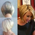 Cute Blonde Hairstyles For Oval Faces Women.