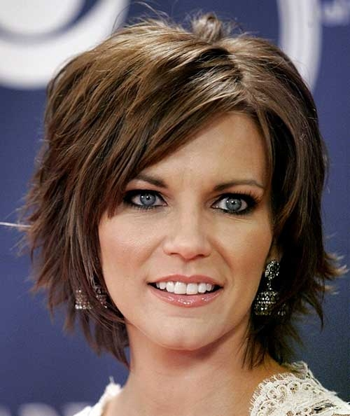 Short-Side-Swept-Hair-Women-Over-40.jpg - Best Short Hairstyles