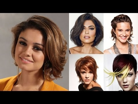 Best Hairstyles For Oval Faces Women 2018 Best Short Hairstyles