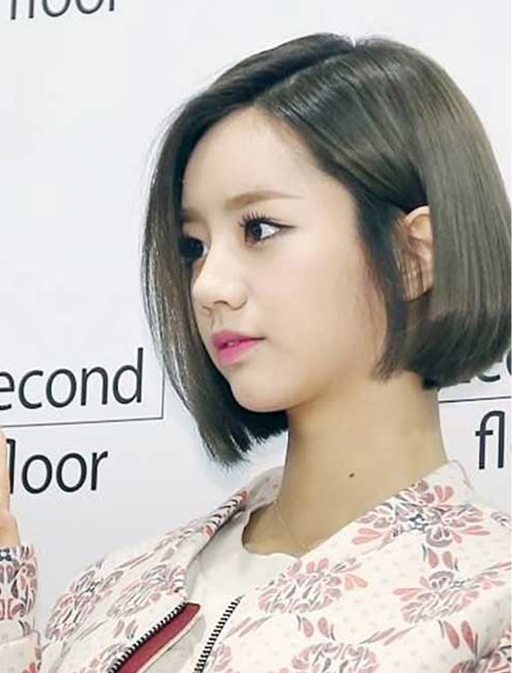 short-hairstyles-for-asian-women - best short hairstyles