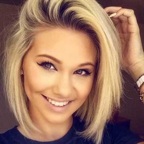 Best Short Hairstyles For Round Faces Women Best Short Hairstyles