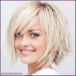 Best Short Hairstyles For Round Faces Women.