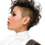 Cute Shaved Hairstyles For Black Women.