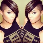 Cute Shaved Hairstyles For Black Women