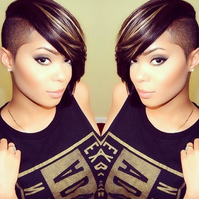 Cute Shaved Hairstyles For Black Women Photo Gallery ...