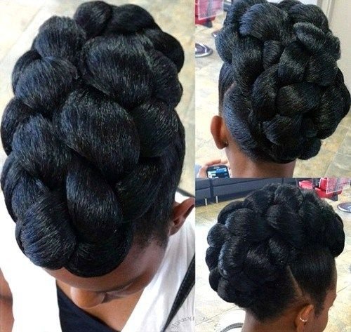 Natural Updo Hairstyles For Black Women Best Short Hairstyles