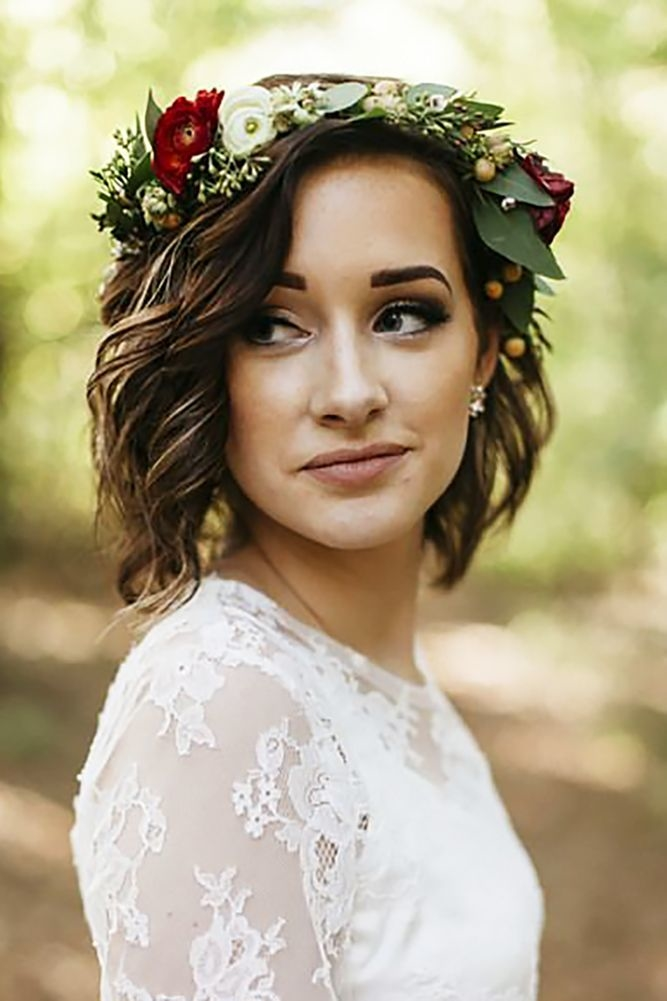 Best Short Wedding Hairstyles Tips for 2018 - Best Short Hairstyles