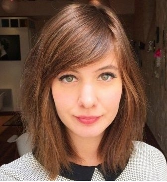 Amazing Hairstyles with Side Swept Bangs 2018. - Best Short Hairstyles