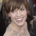 The Hilary Swank Trendy Hairstyles.