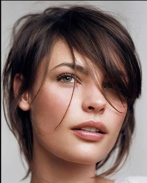 Messy Short Hairstyle 2020
