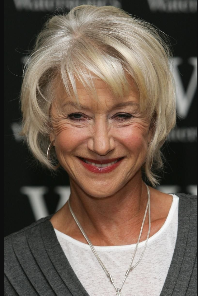 The Best Short Hairstyle for Older Women