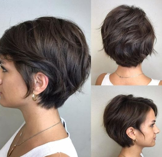 Easy-To-Style Short Layered Hairstyles