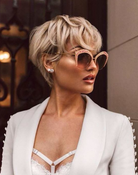 Short Blonde Hair Ideas Right Now