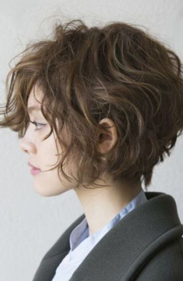 Wavy and Pixie Hairstyles