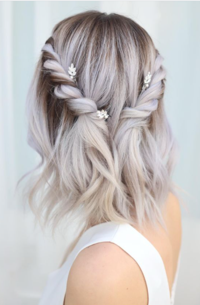 aGorgeous Prom Hairstyles for Short Hair