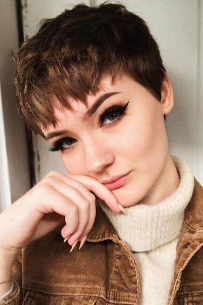 22 Trending Short Brown Hairstyles