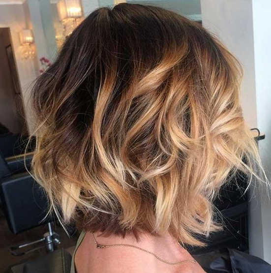 Trendy Balayage Short Hair Looks