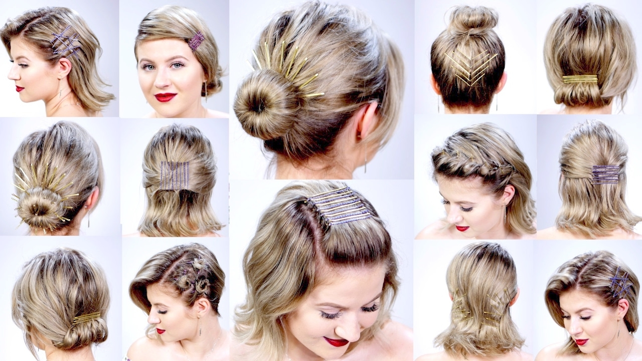 beautiful easy hairstyles for short hair – summer. - best short
