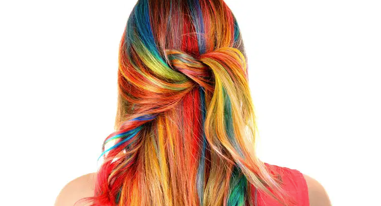 colorful Hair color trends for 2021