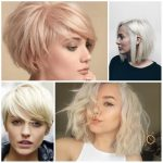 Short Blonde Hairstyles, Summer 2018